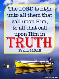 Psalm 145 18 KJV