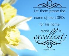 Psalm 148 13 English