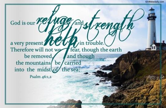 Psalm 46 1, 2 KJV