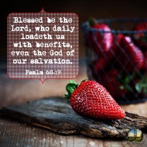 Psalm 68 19 KJV
