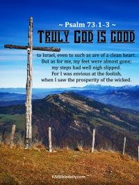 Psalm 73-1-3 KJV