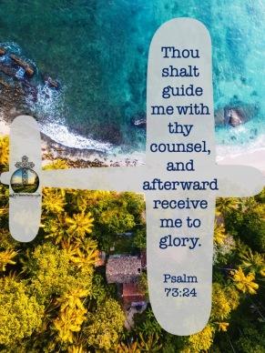 Psalm 73 24 KJV