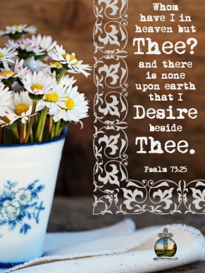 Psalm 73 25 KJV