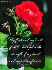 Psalm 73 26 KJV