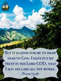 Psalm 73 28 KJV