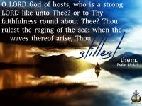 Psalm 89-8, 9 KJV