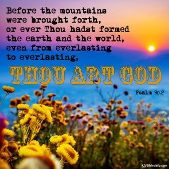Psalm 90 2 KJV