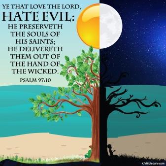 Psalm 97-10 KJV