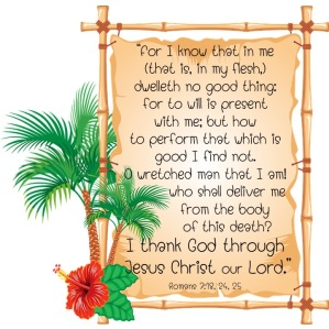 Romans 7 18 24 25 English