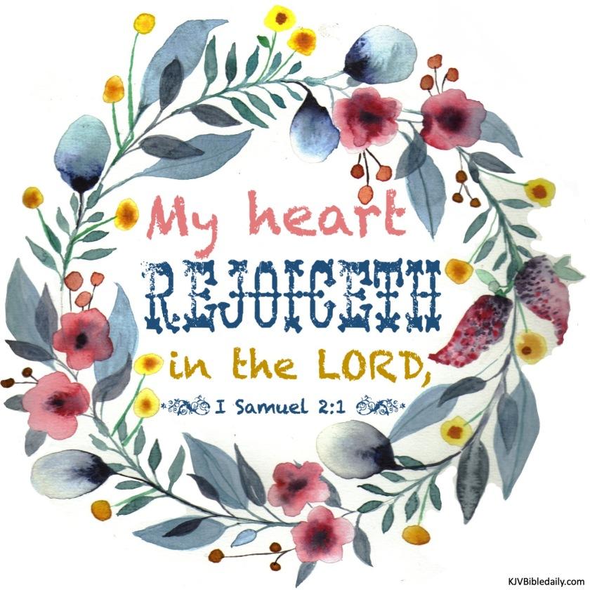 I Samuel 2-1 KJV
