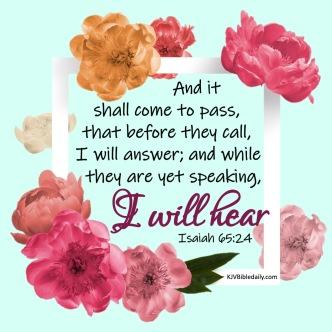 Isaiah 65-24 KJV