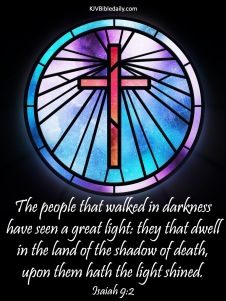 Isaiah 9 2 KJV