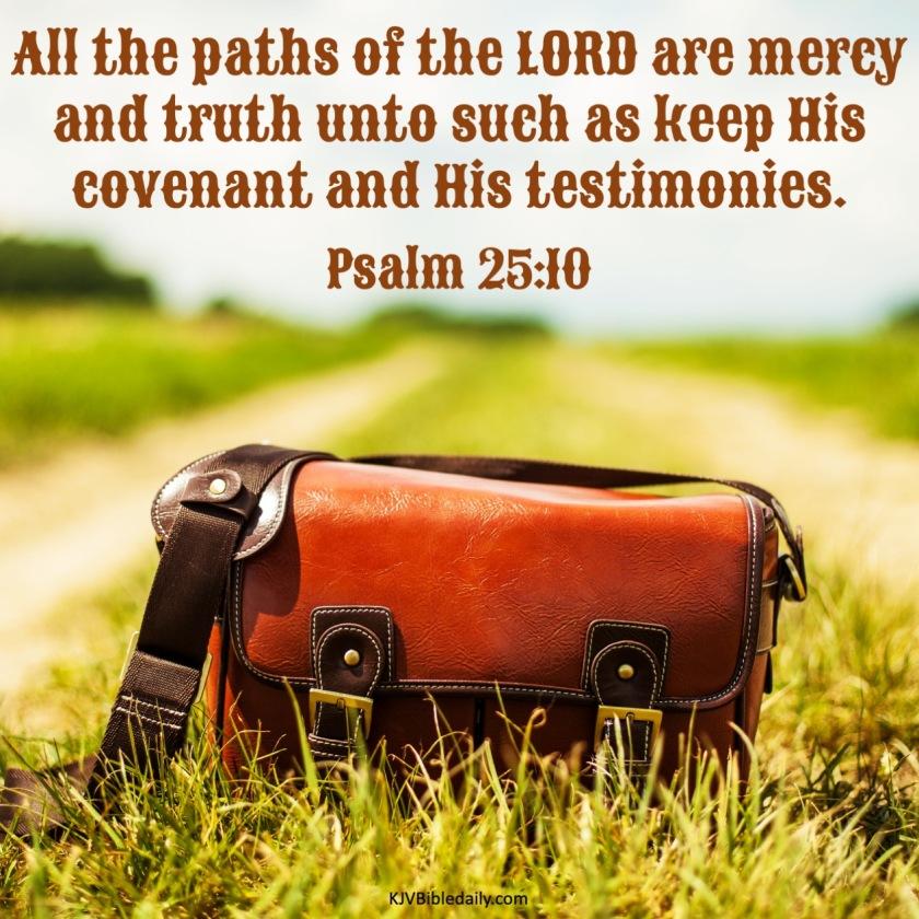 Psalm 25 1 KJV