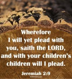 Jeremiah 2-9 KJV
