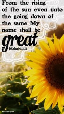 Malachi 1-11 KJV