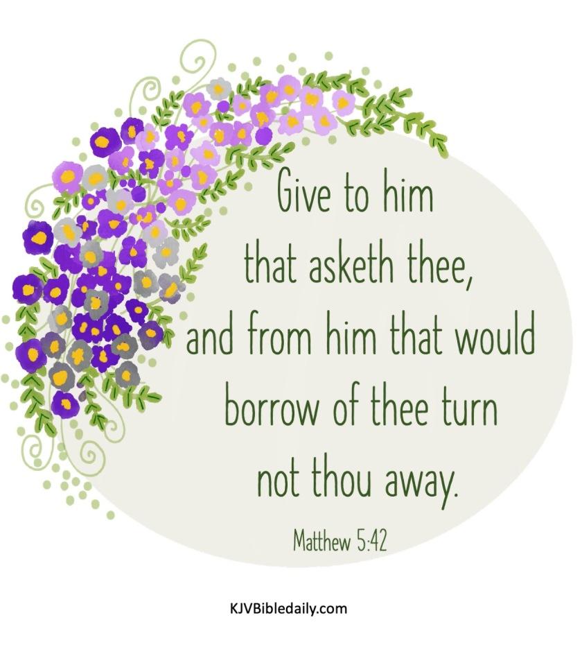Matthew 5 42 KJV.jpg
