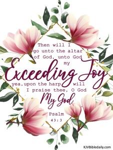 Psalm 43-3 KJV